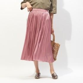 ルージュ・ヴィフ ラクレ(Rouge vif la cle)/サテンギャザースカート