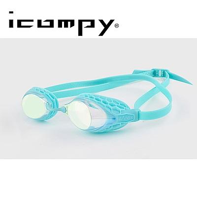 icompy 蜂巢式防霧抗UV電鍍運動泳鏡 VC-953