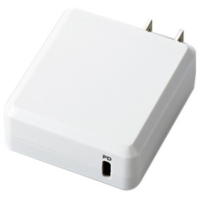 エレコムPower Delivery対応AC充電器(18W・Type-Cポート)オリジナル ホワイトED-SACCP01WH
