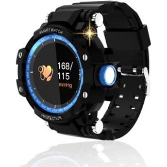 スマートウォッチ 2019最新版 IP67防水 心拍数 血圧計 メンズスポーツ 多機能 歩数計 腕時計Bluetooth の時計 smartwatch 活動量計 GPS運