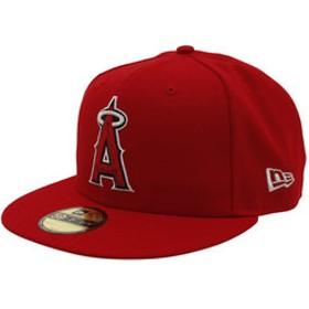 【Super Sports XEBIO & mall店:帽子】59FIFTY MLB オンフィールド ロサンゼルス・エンゼルス ゲーム 11449402