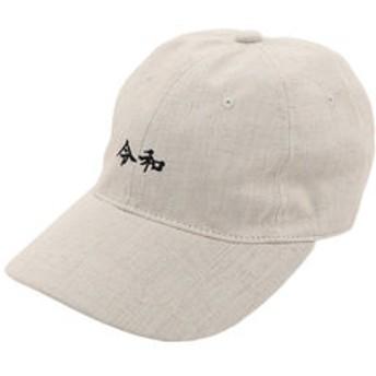 【Super Sports XEBIO & mall店:帽子】リネン刺繍キャップ 令和 897PA9ST1770 NTL