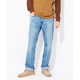 Levi's 「569」ルーズストレートデニムパンツ メンズ 淡加工色