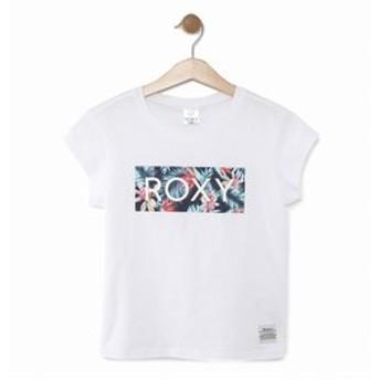 【クイックシルバー:トップス】【ROXY ロキシー 公式通販】ロキシー(ROXY)ロゴ Tシャツ MINI BOTANICAL HEALING (100-150)