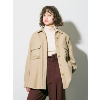 [マルイ] 【emmi atelier】ウールシャツジャケット/エミ(emmi)