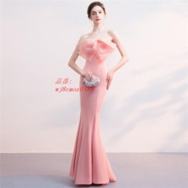 パーティードレス ロング ドレス 30 50 フォーマル 披露宴 大きいサイズ 結婚式 マーメイド パーティドレス 40 ワンピース ドレス 20 二