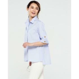 UVコットン・袖ボタンシャツ