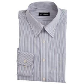 【メンズ】 出張や洗い替えにも便利!形態安定Yシャツ(長袖)(S-5L) - セシール ■カラー:ストライプA(レギュラー衿) ■サイズ:LL,S,4L,3L,5L,L,M