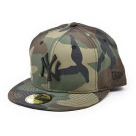 【Super Sports XEBIO & mall店:帽子】59FIFTY MLB ニューヨーク・ヤンキース ウッドランドカモ×ブラック 11308533