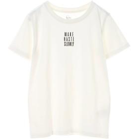 【6,000円(税込)以上のお買物で全国送料無料。】ベア天クルーロゴTシャツ