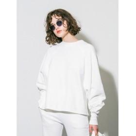 [マルイ] 【emmi atelier】吊編み裏毛スウェット/エミ(emmi)