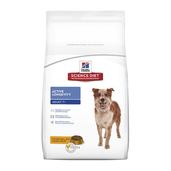 為狗兒提供精確、均衡且容易消化吸收的營養,以恢復年輕活力
