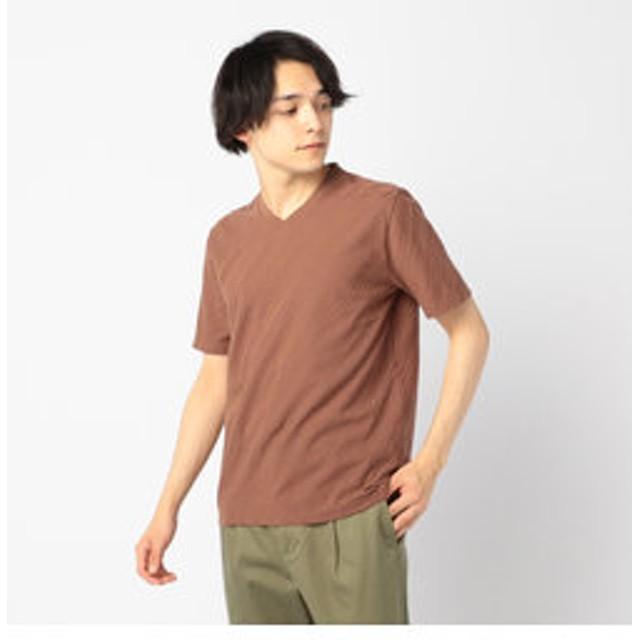 【FREDY & GLOSTER:トップス】バイアスリンクスTシャツ