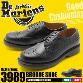 DR.MARTENS ドクターマーチン シューズ 3989 ブローグシューズ 24340001 メンズ レディース