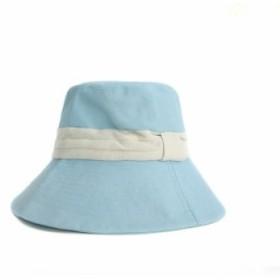帽子 つば広 ハット レディース つば広帽子 UVカット サンバイザー フランス風 紐付き 紫外線対策 無地 農業 夏 新作