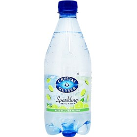 クリスタルガイザー スパークリング ライム (無果汁・炭酸水) (532mL24本入)