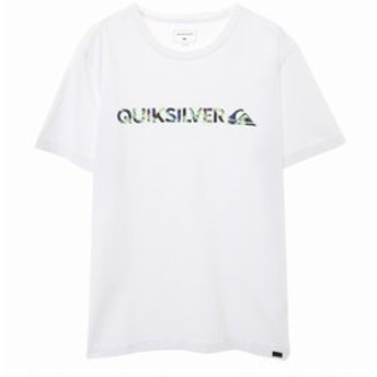 【クイックシルバー:トップス】【QUIKSILVER クイックシルバー 公式通販】クイックシルバー (QUIKSILVER)ロゴ Tシャツ M & W ISLAND ST