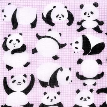 かやのふきん「ごきげんパンダ」 作者:谷口広樹
