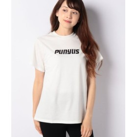 (PUNYUS/プニュズ)ロゴプリントT/レディース ホワイト