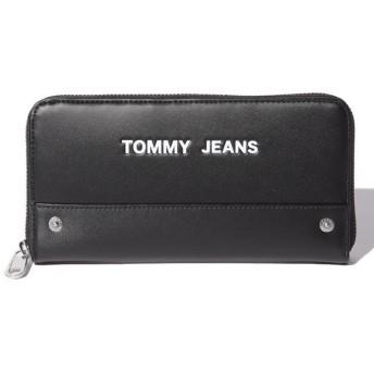 トミーヒルフィガー ロゴロングウォレット メンズ ブラック one size 【TOMMY HILFIGER】