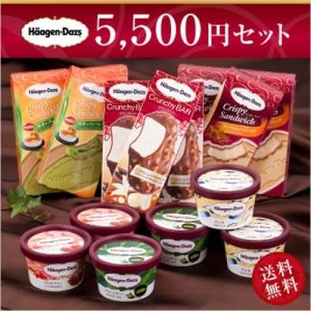 ハーゲンダッツ アイスクリーム SILVERセット(6種・15個入り)(新パッケージ)(ラッピング付)(送料込) お中元 御中元 ギフト アイス