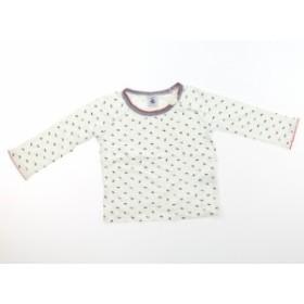 【プチバトー/PETITBATEAU】Tシャツ・カットソー 80サイズ 女の子【USED子供服・ベビー服】(416228)