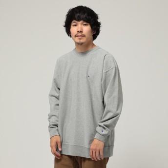 [マルイ] Champion × BEAMS / 別注 リバースウィーブ ロングスリーブ Tシャツ/ビームス(BEAMS)