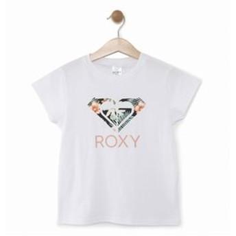 【クイックシルバー:トップス】【ROXY ロキシー 公式通販】ロキシー(ROXY)ロゴ Tシャツ MINI TROPICAL ABABA LOGO (100-150)