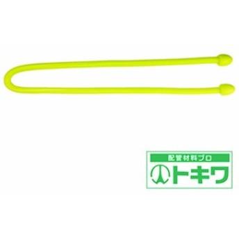 TRUSCO カラフルフリータイ Φ4×300mm イエロー (2本入) TKFRT-304-Y ( 8563726 )