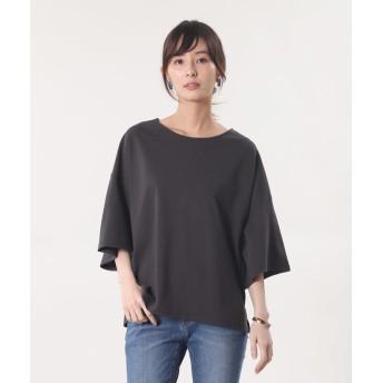 【PLST】コンパクトテンジクビッグTシャツ