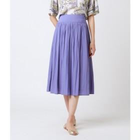 [マルイ]【セール】シルクタッチポリエステル ギャザースカート/ニューヨーカー ウィメンズ(NEW YORKER)