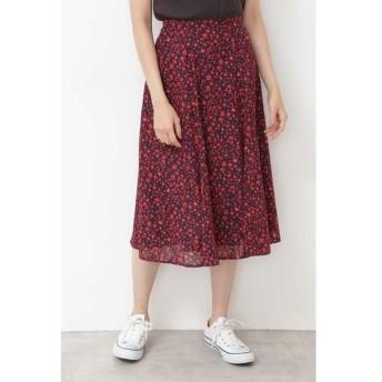 [マルイ]【セール】[洗える]プチフラワープリントカットジャガードスカート/ナチュラルビューティーベーシック(NATURAL BEAUTY BASIC)