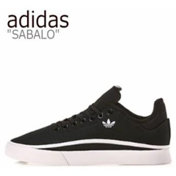 アディダス スニーカー adidas メンズ レディース SABALO サバロ BLACK ブラック WHITE ホワイト EE6122 シューズ
