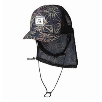 【クイックシルバー:スポーツ】UPF50+ パッカブル サーフキャップ UV WATER MESH CAP PRT