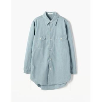 【トゥモローランド/TOMORROWLAND】 コットンダンガリー 2ポケットシャツ