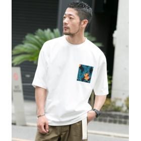 ROSSO(ロッソ) トップス Tシャツ・カットソー 別注レインスプーナー ポケットTシャツ【送料無料】