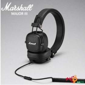 Marshall MAJOR III BLACK ZMH-04092182 マーシャル ヘッドホン ブラック 【Marshalグッズ プレゼントキャンペーン中!9/9/まで】