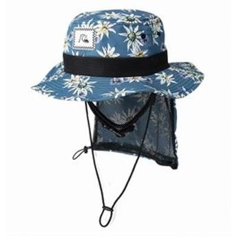 【クイックシルバー:スポーツ】UPF50+ パッカブル サーフハット UV WATER HAT PRT