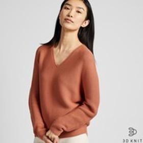 3Dコットンコクーンセーター(長袖)