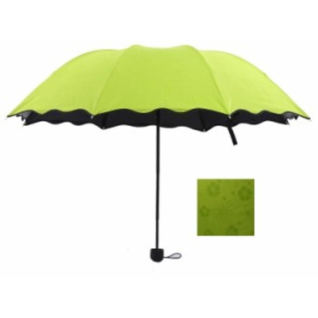 日傘 三つ折りたたみ 完全遮光 UVカット 雨傘 レディース 晴雨兼用傘 紫外線対策 遮熱 傘大きい 軽量 25cm 携帯用