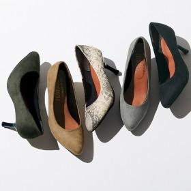 Ranan やわらかポインテッドパンプス グリーン 23.0cm レディース 5,000円(税抜)以上購入で送料無料 パンプス 夏 レディースファッション アパレル 通販 大きいサイズ コーデ 安い おしゃれ お洒落 20代 30代 40代 50代 女性 靴 シューズ