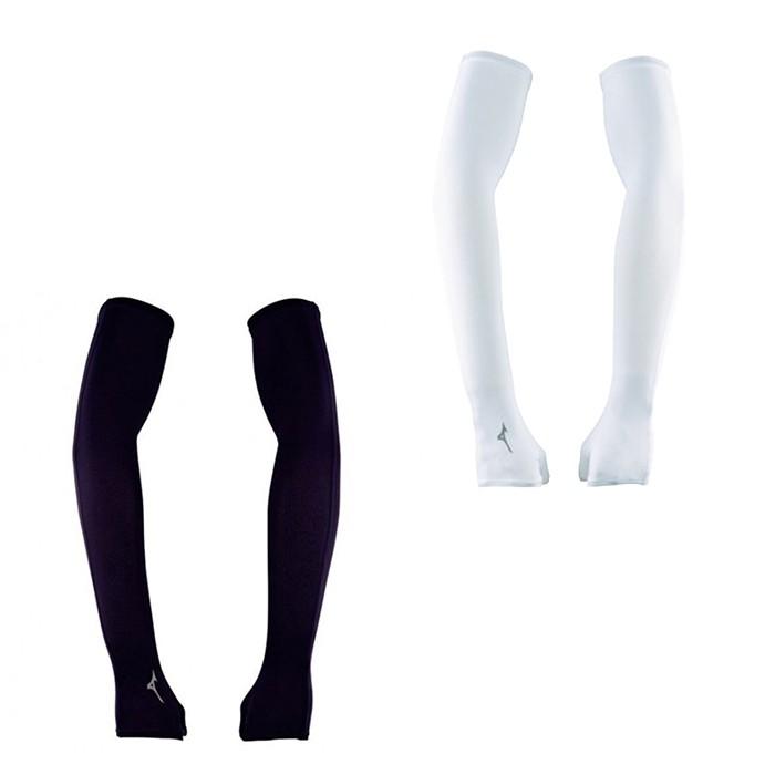 MIZUNO 18FW 半掌式 運動袖套 抗紫外線UPF50 反光印花 32TY8G02系列