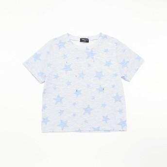 [マルイ] 星柄プリント Tシャツ/コムサイズムキッズ(COMME CA ISM)