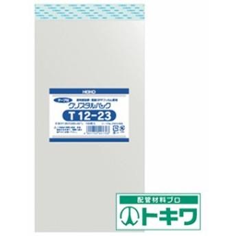 HEIKO OPP袋 テープ付き クリスタルパック T12-23 6741600 ( 8562725 )