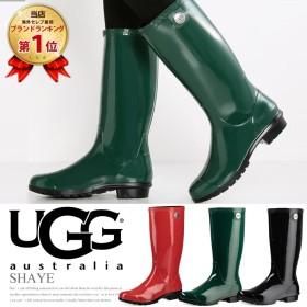 【交換片道無料】UGG アグ SHAYE シェイ レインブーツ レディース シエナ 長靴 ブラック 1012350 SIENNA BLACK レイ