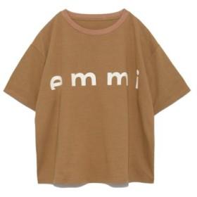 (emmi/エミ)【emmi atelier】emmiロゴTシャツ/レディース BRW 送料無料