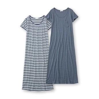 ルームワンピース2枚組 (パジャマ・ルームウェア),Sleepwear