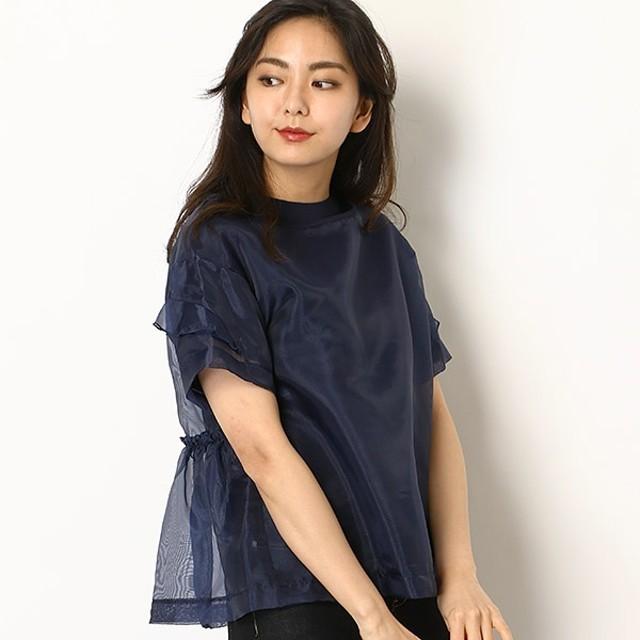 [マルイ] オーガンジーレイヤードTシャツ 60404/ドールアップ ウップス(doll up oops)