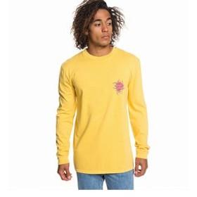 【クイックシルバー:トップス】【ORIGINALS】 バックプリント 長袖 Tシャツ QUIK TRIBE LS