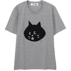 ネ・ネット にゃー T / Tシャツ レディース グレー 03 【Ne-net】